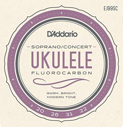 Pro-Arte Carbon Ukulele Strings, Soprano / Concert SET