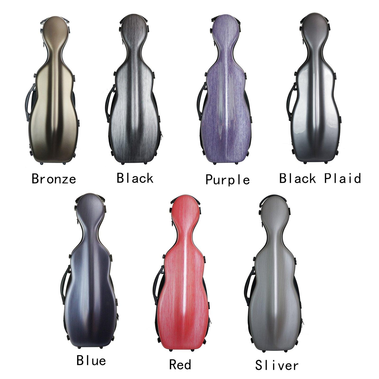 West Coast Strings Cello Shaped Violin Case