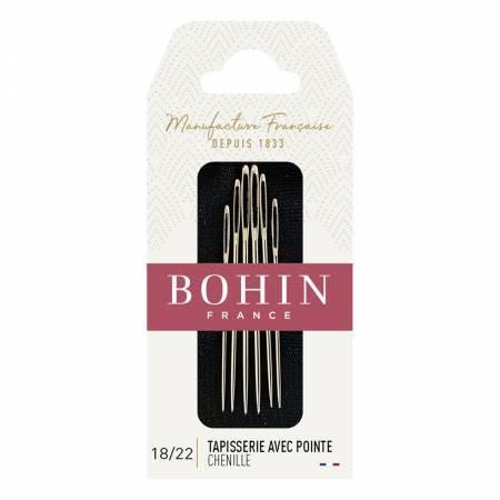 Bohin #18/22 Tapisserie Avec Pointe Chenille
