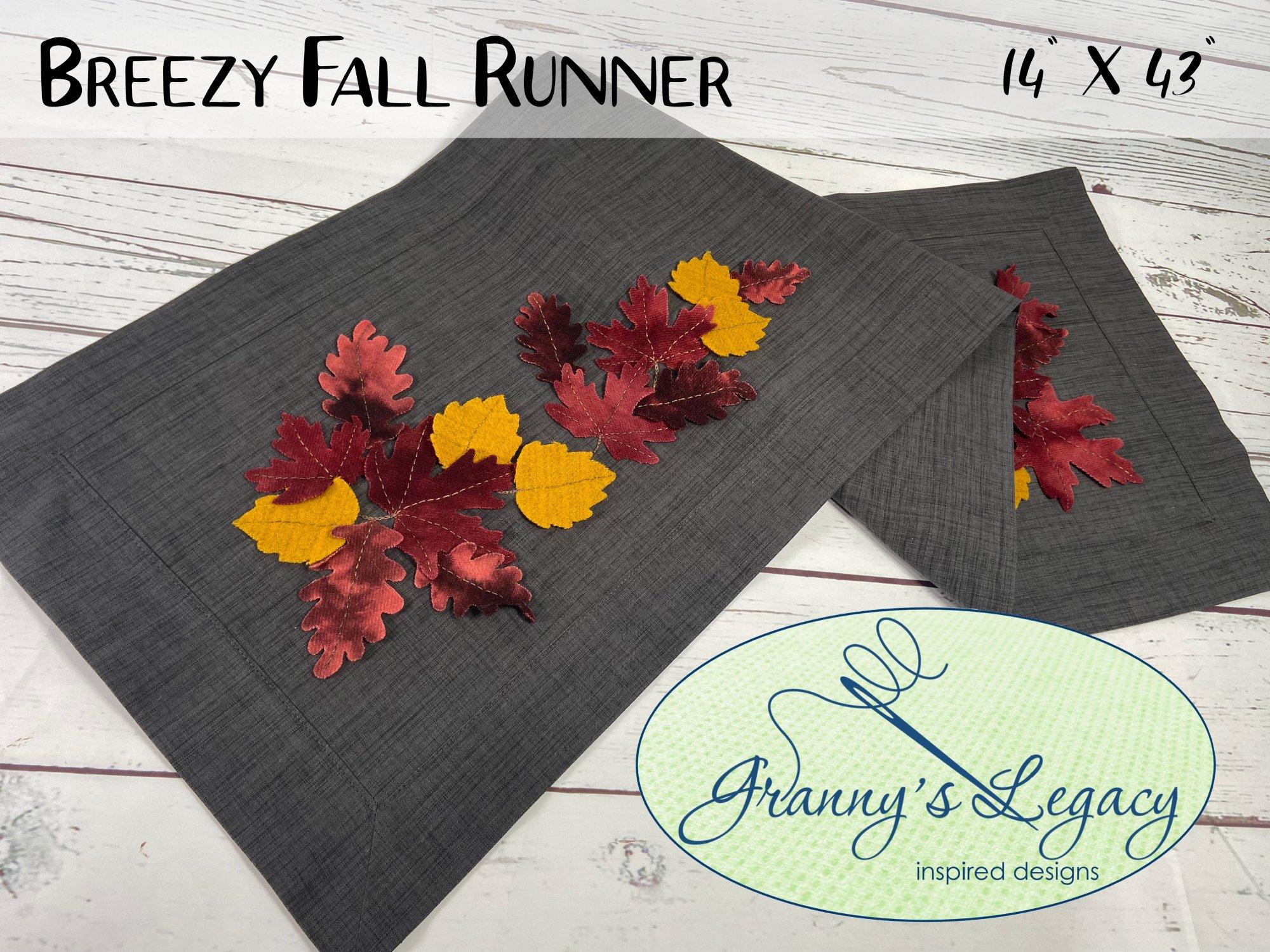 Breezy Fall Runner