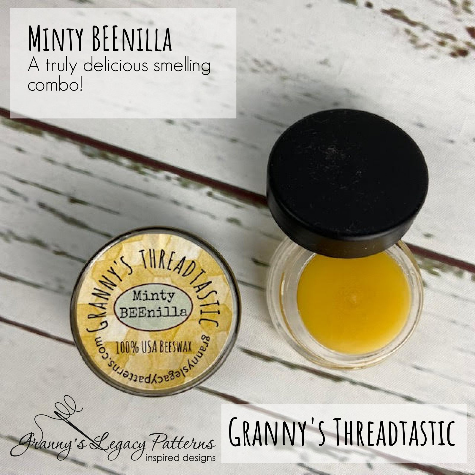 Granny's Threadtastic Minty BEEnilla