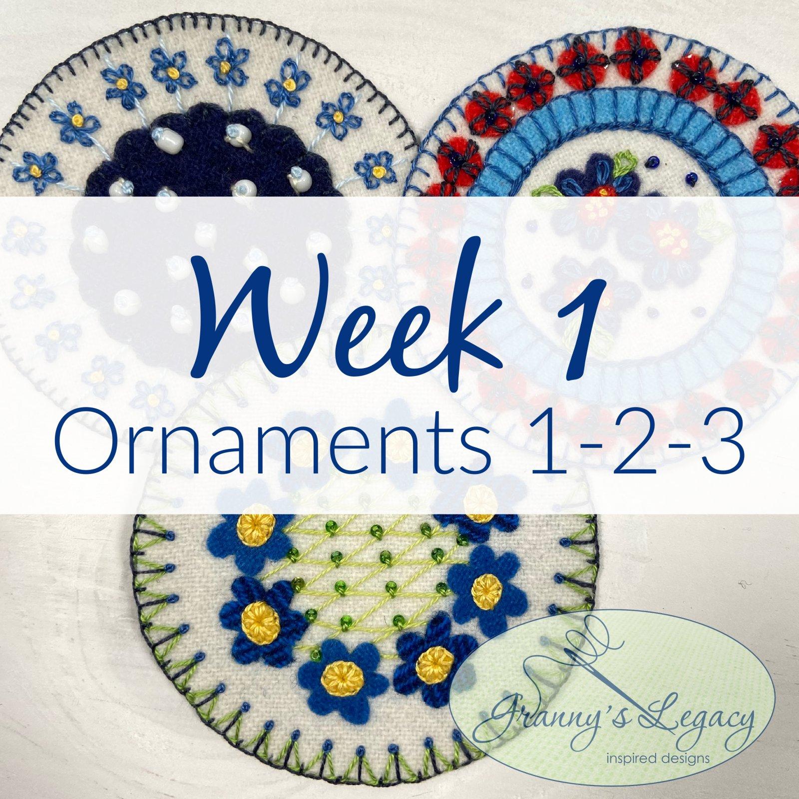 Polish Souvenir - Week #1 PRINTED PATTERN