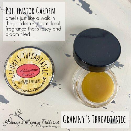 Granny's Threadtastic Pollinator Garden