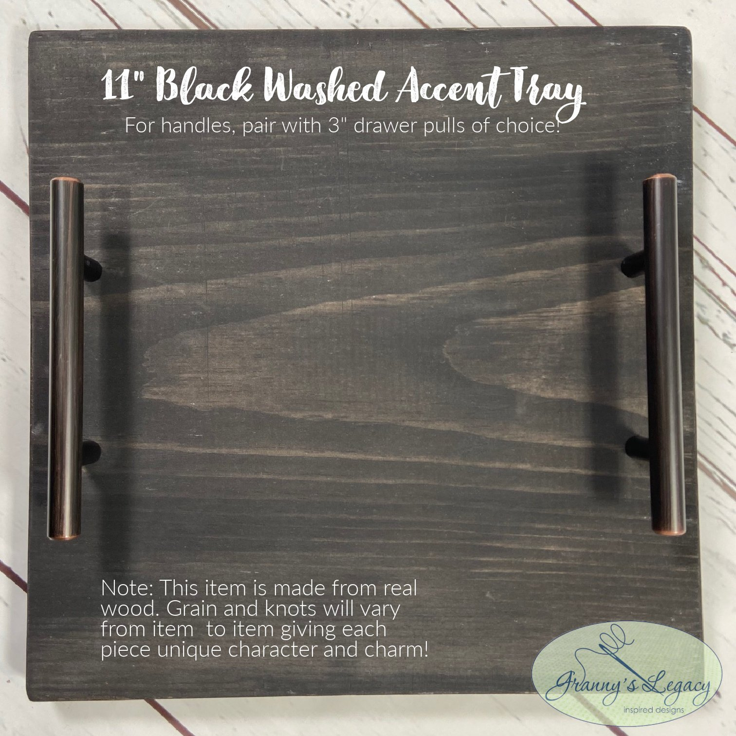 Handmade Accent Tray - 11 Inch
