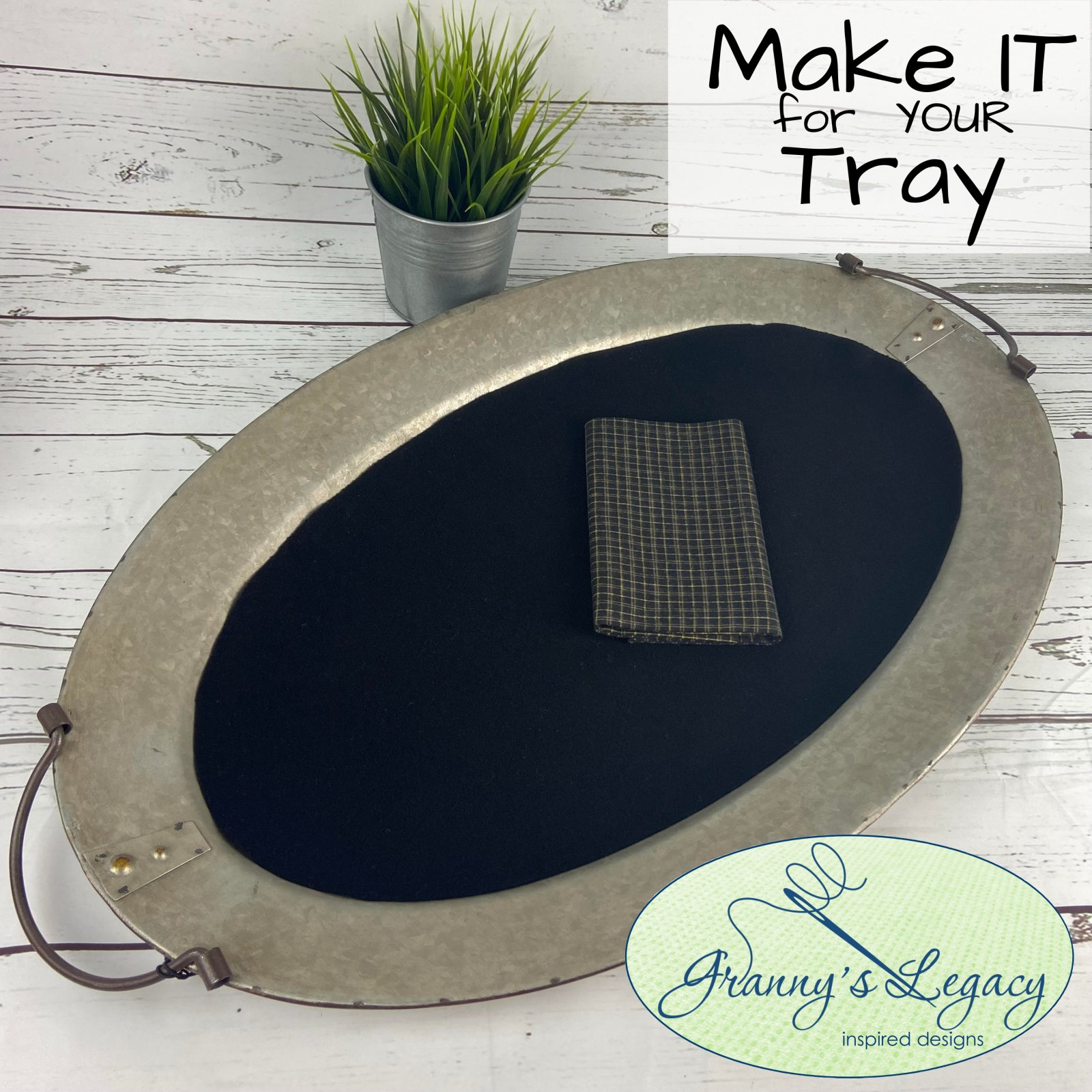 Make it for Your OVAL Tray