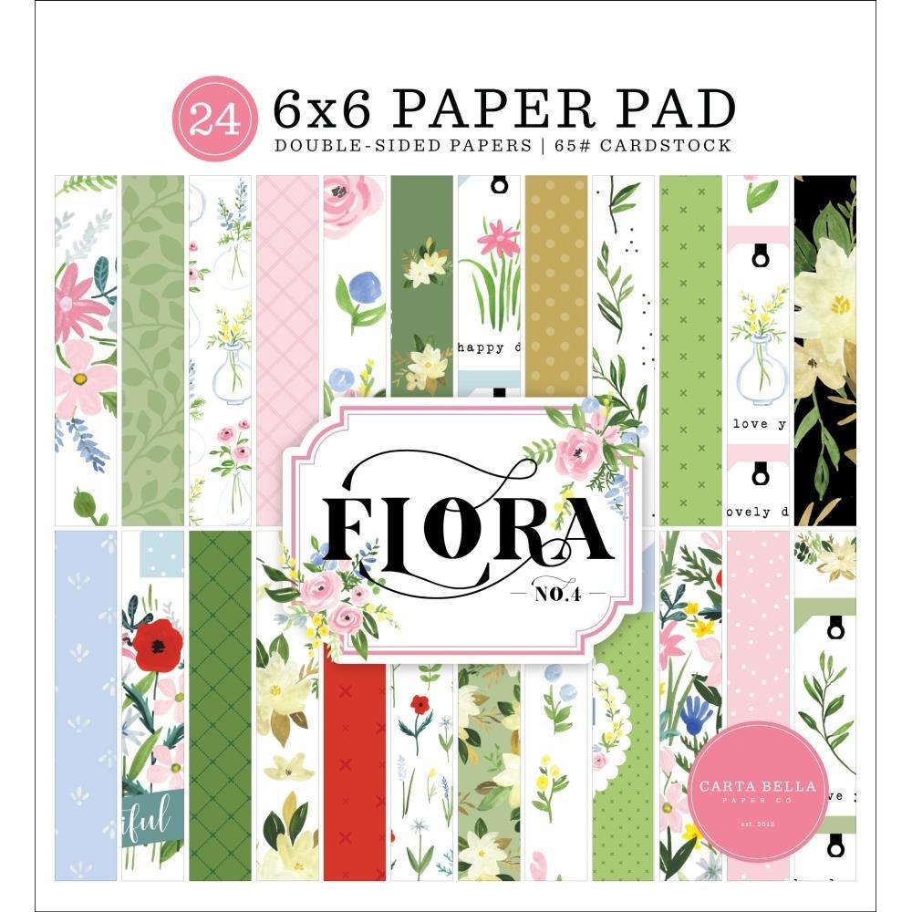 Flora No. 4 6x6 pad