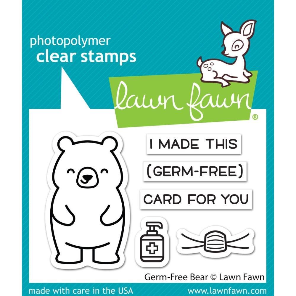 Germ-free Bear Stamp Set