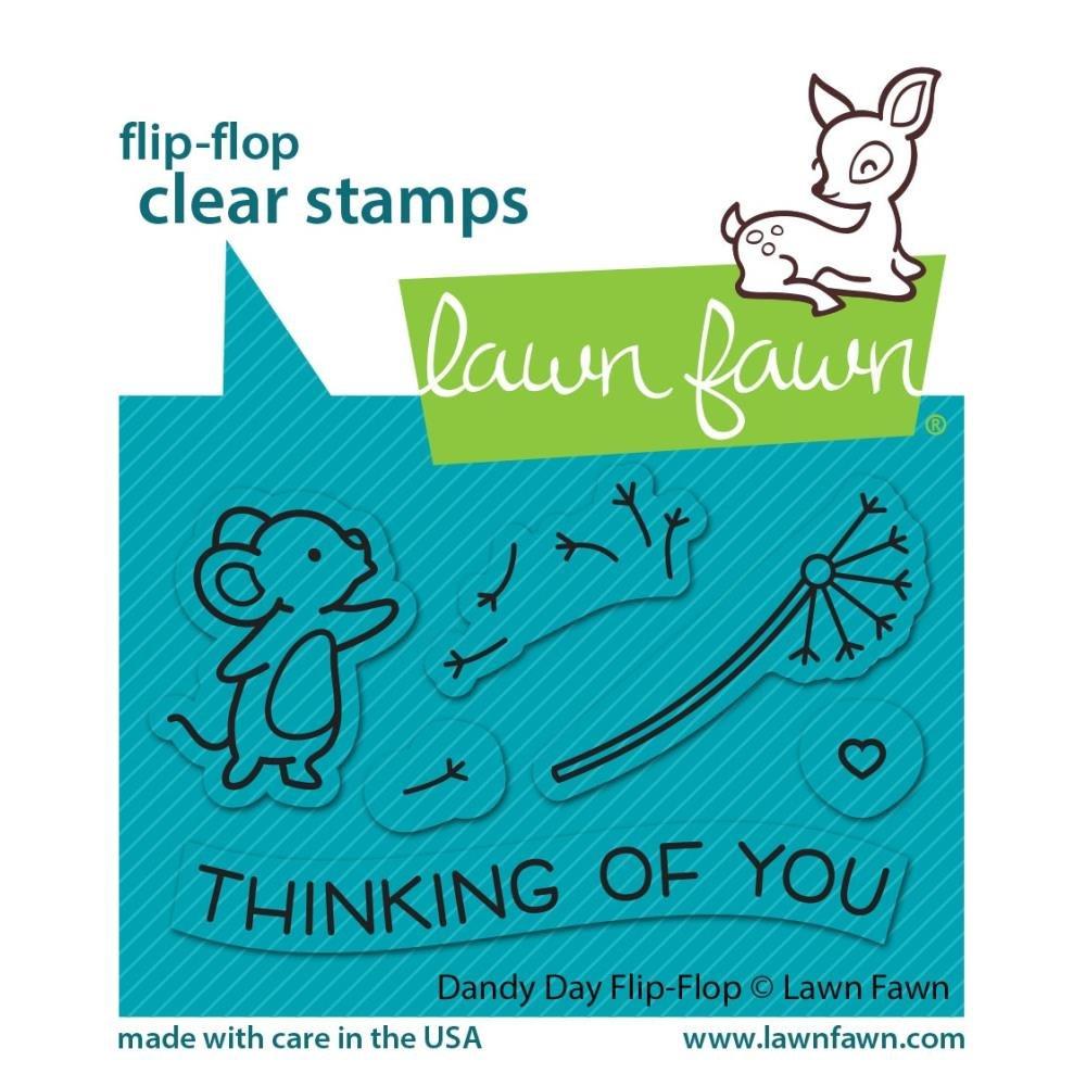 Dandy Day flip-flop stamp