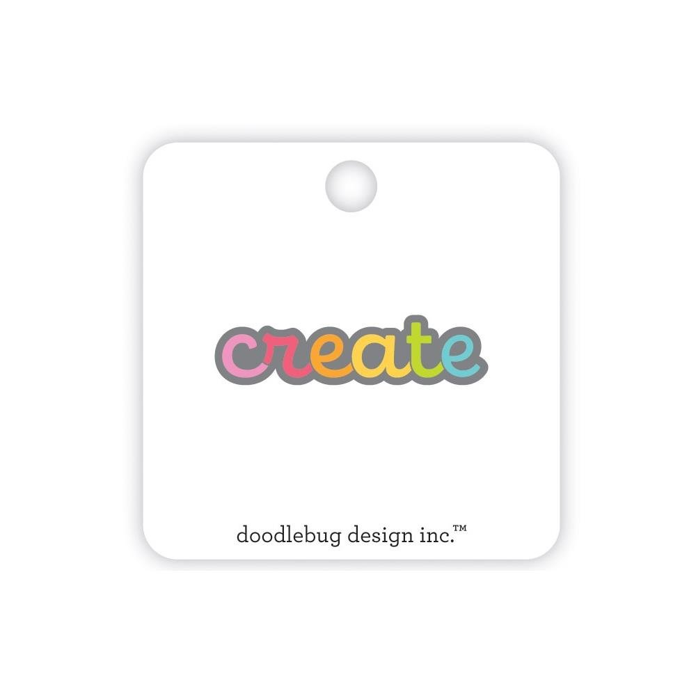 Doodlebug Collectible Enamel Pin-Create