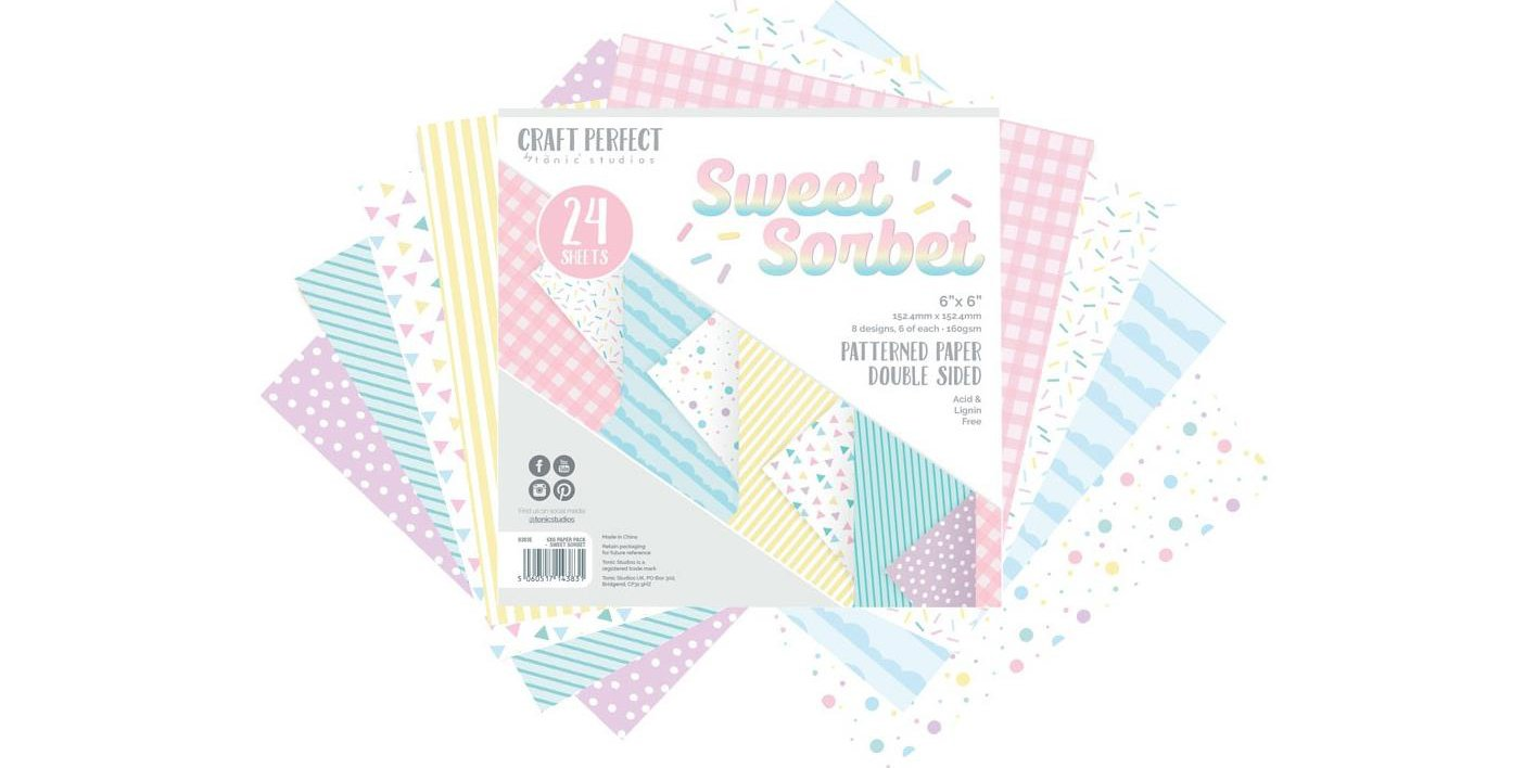 Sweet Sorbet 6x6 pad