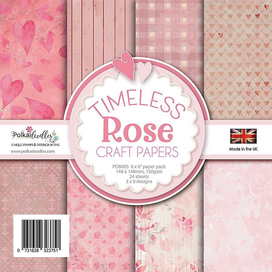 Timeless Rose 6x6 Pad