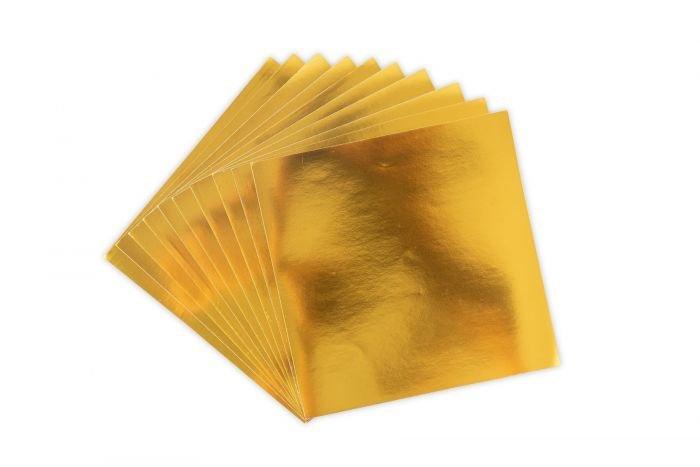 Sizzix Surfacez Aluminum Metal Sheets - Gold