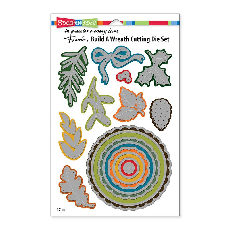 Build a Wreath Die Cut Set