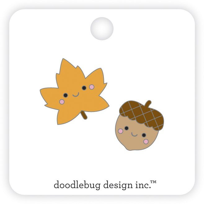 Fall Friends Collectible Enamel Pin