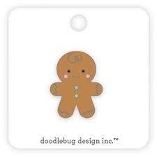 Gingerbread Enamel Pin