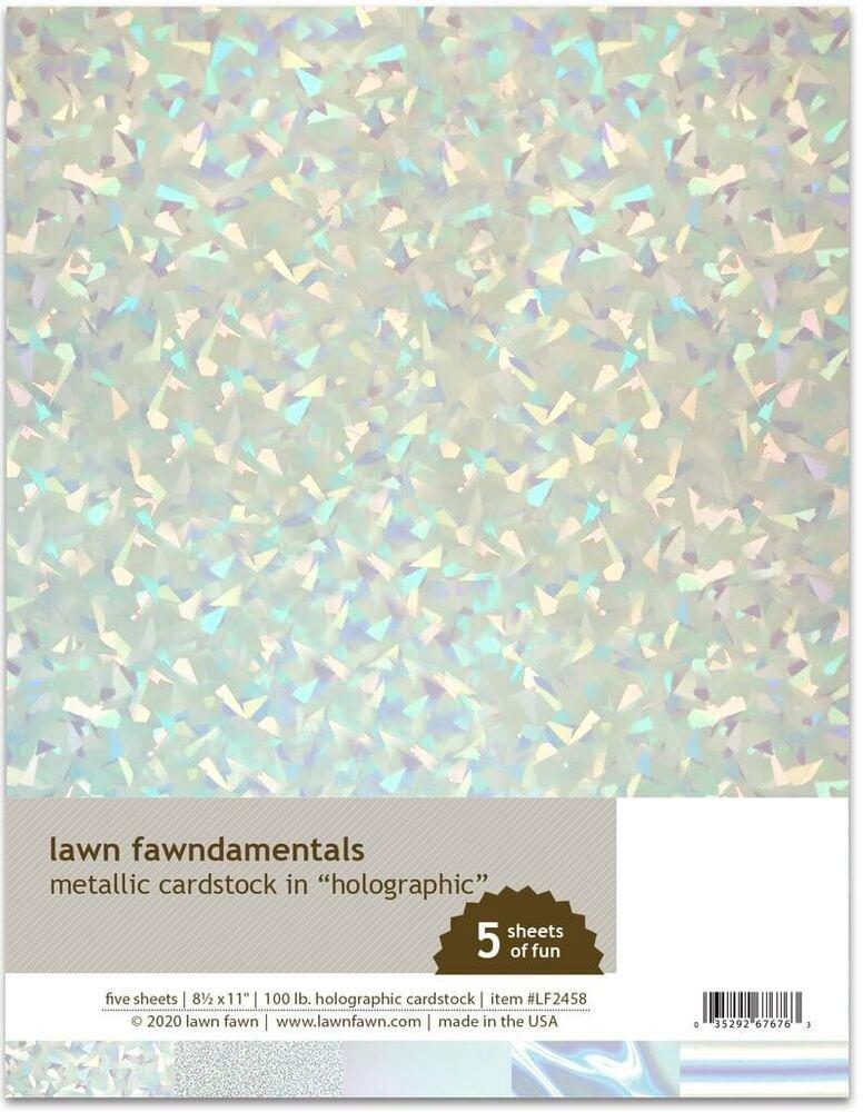 Metallic Cardstock Holographic