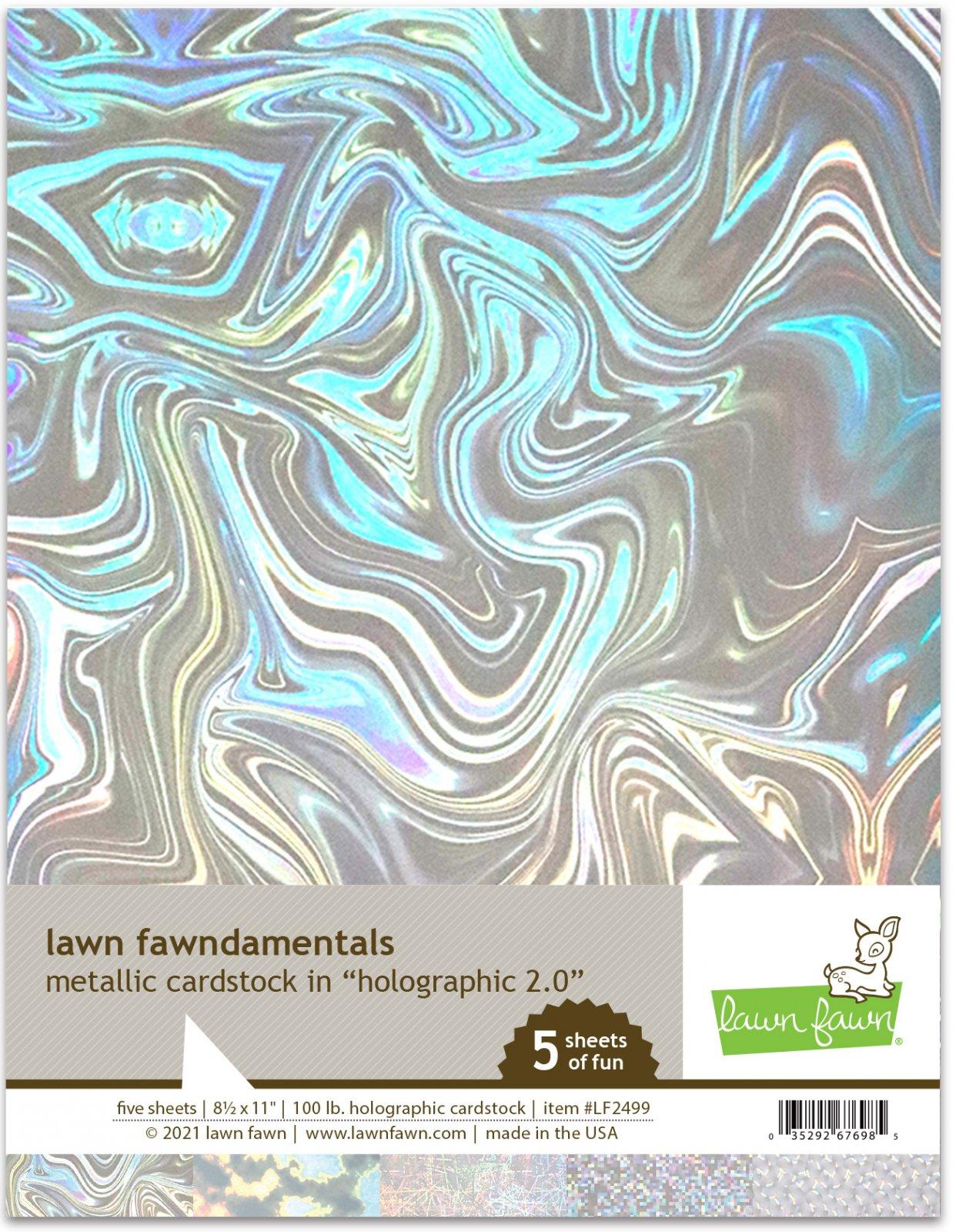 Metallic Cardstock Holographic 2.0