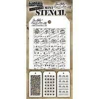 Sizzix Tim Holtz Mini Layered Stencil Set #51