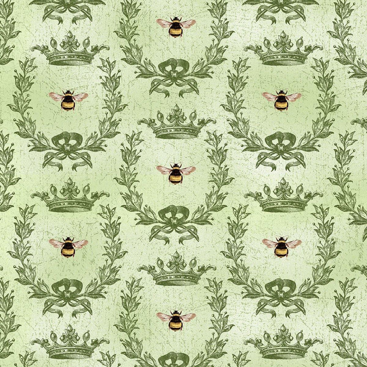 Green Queen Bee
