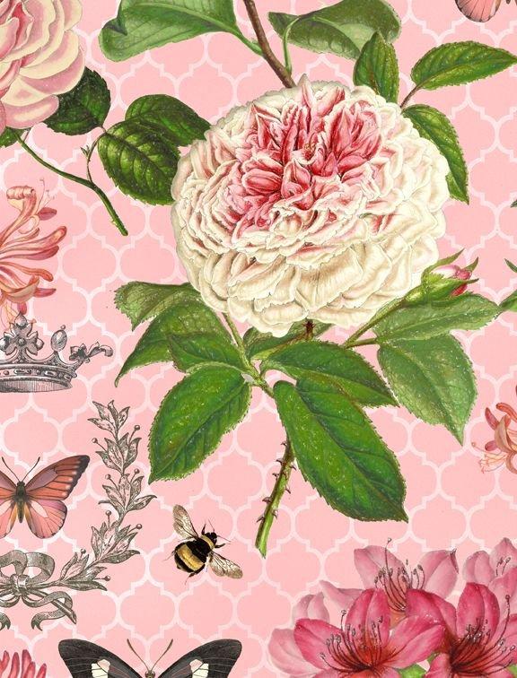 Le Bouquet large floral