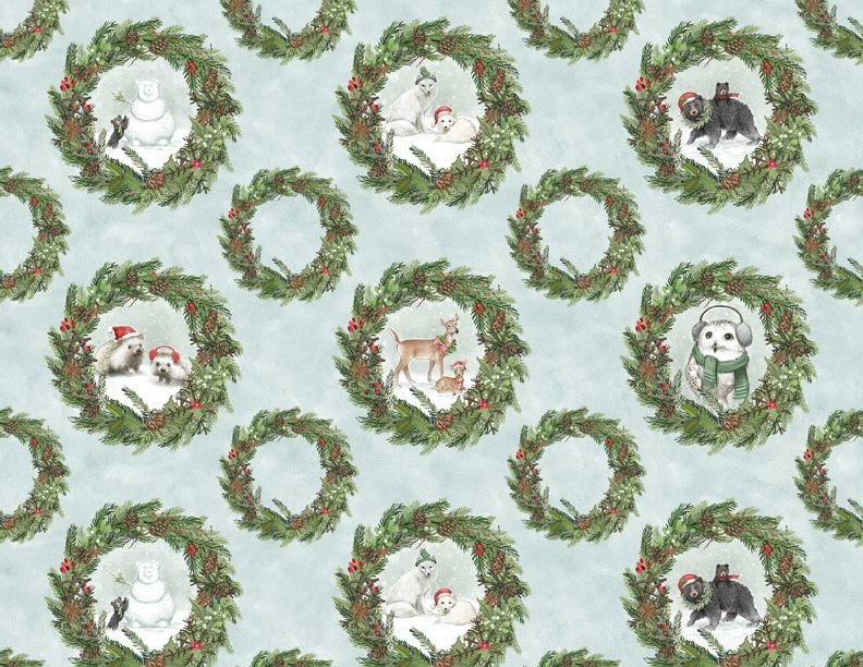 Bears and Wreaths