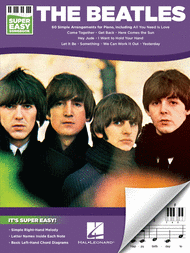 Beatles Super Easy Piano