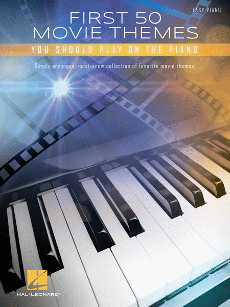 First 50 Movie Themes Piano