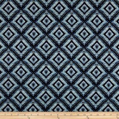 STOF France LeQuilt Shibori Blue Fabric