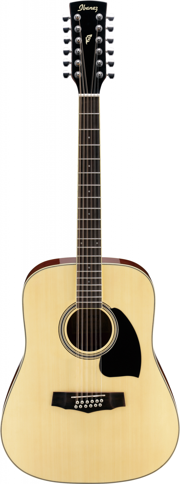 Ibanez Performance PF1512-NT 12 Str Acoustic Guitar - Natural High Gloss