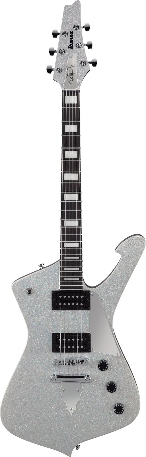 Ibanez PS60-SSL Paul Stanley Signature 6str Electric Guitar  - Silver Sparkle
