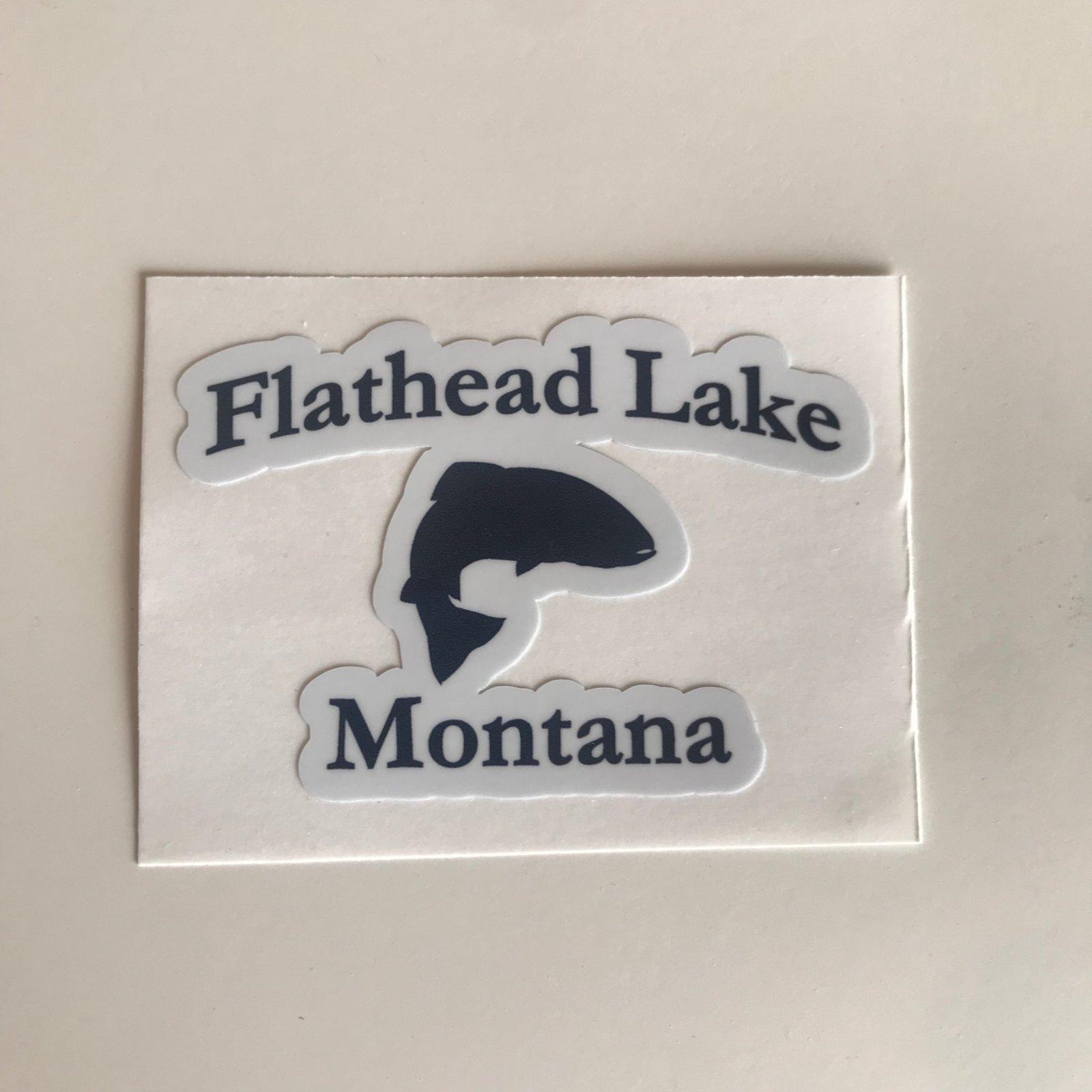 Flathead Lake Sticker