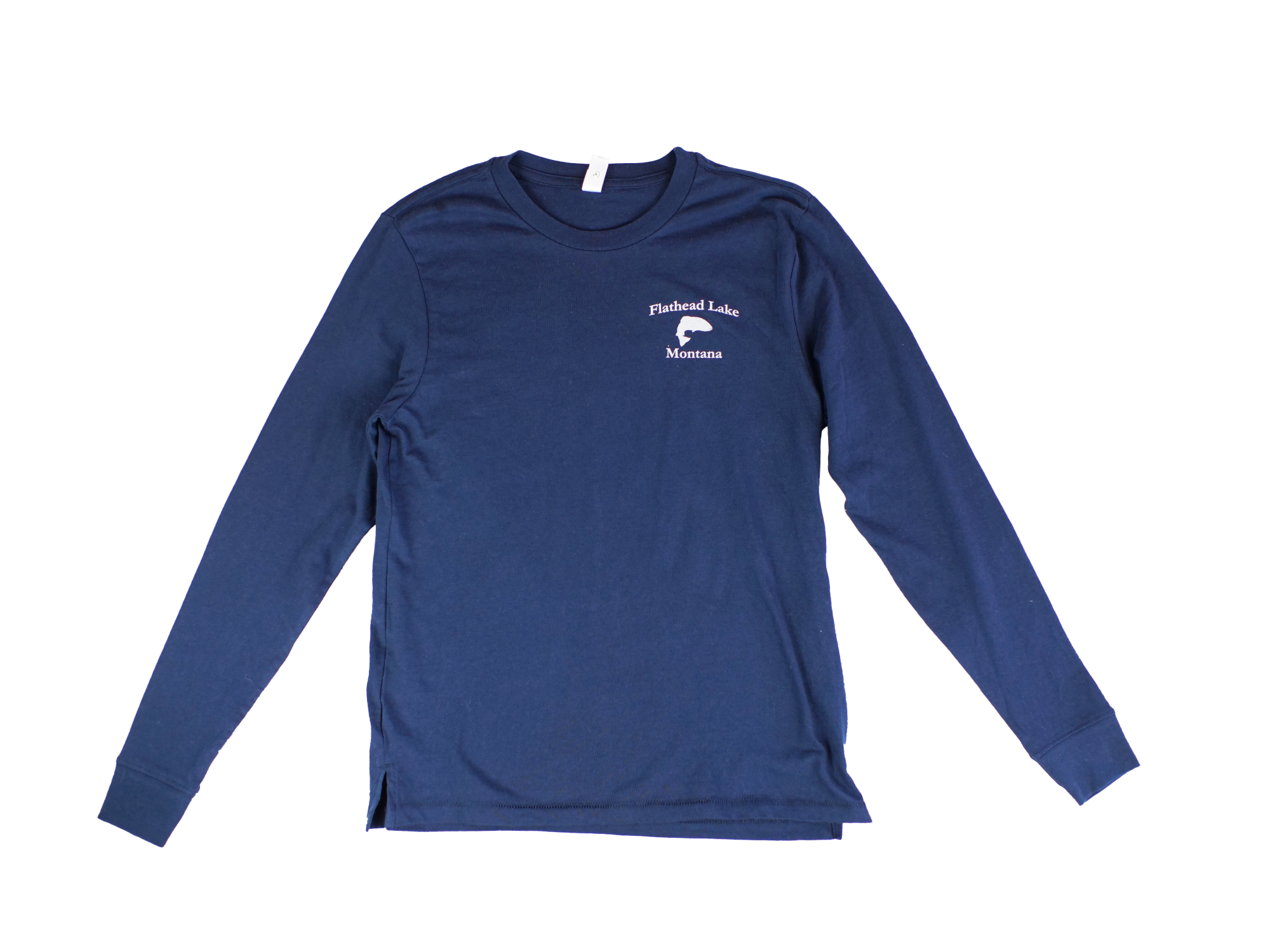Flathead Lake Long Sleeve Navy