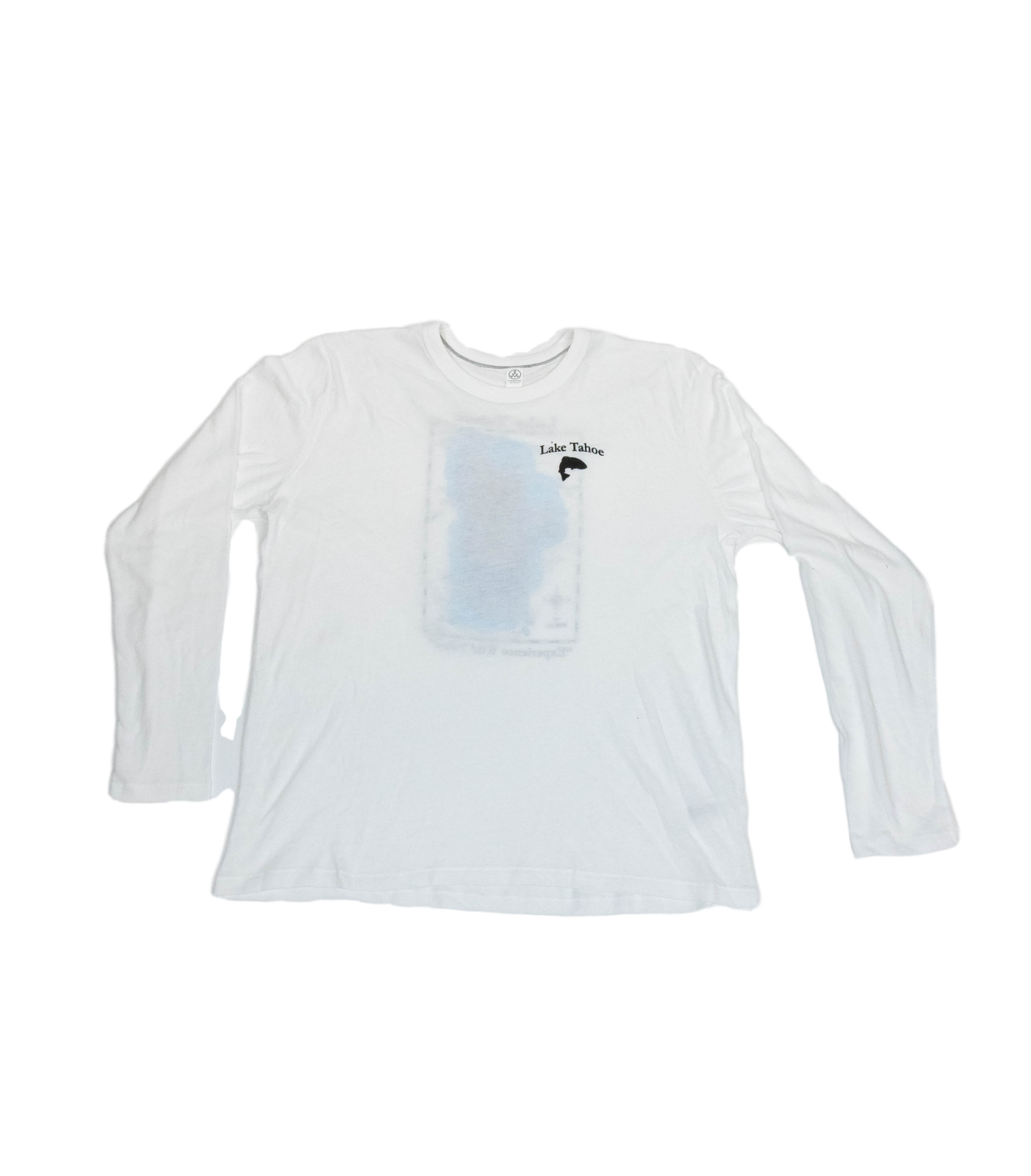Lake Tahoe Long Sleeve White