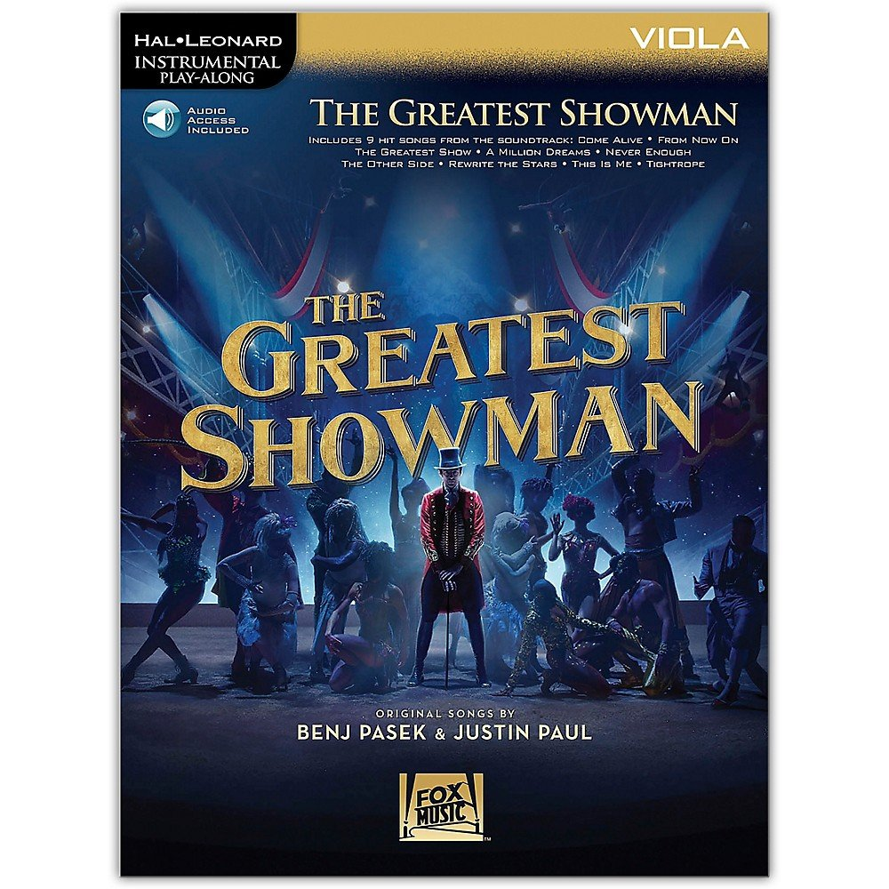 The Greatest Showman Instrumental Play-Along Series For Viola