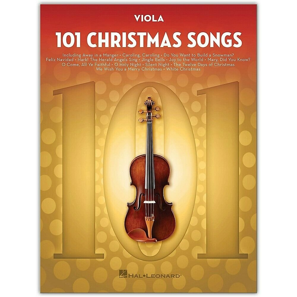 101 Christmas Songs - Viola
