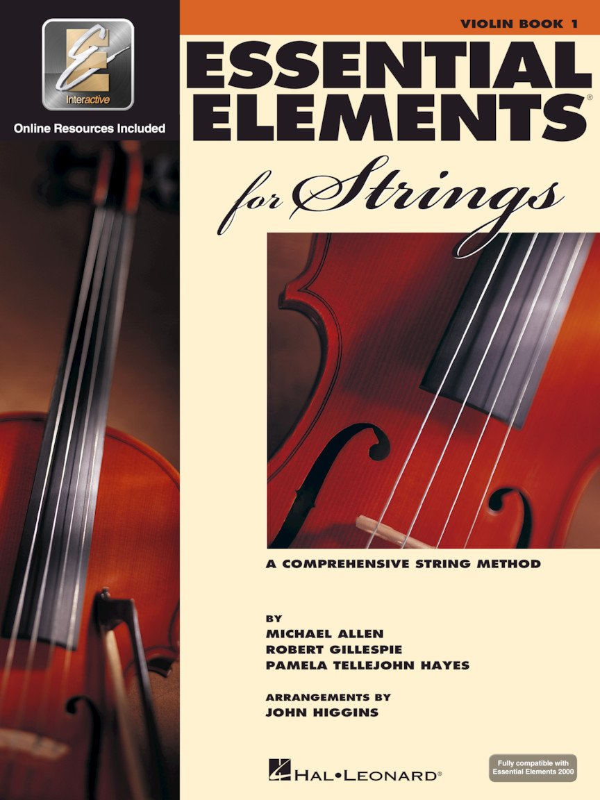 Essential Elements VIOLIN for Strings Book 1 with EEI