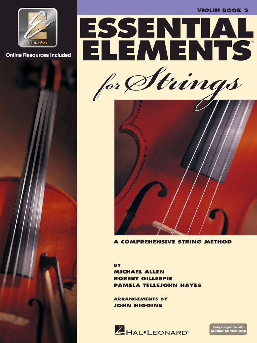 Essential Elements for Strings VIOLIN Book 2 with EEI