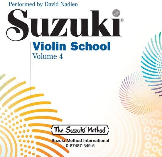 Suzuki Violin School CD, Volume 4 [Violin]