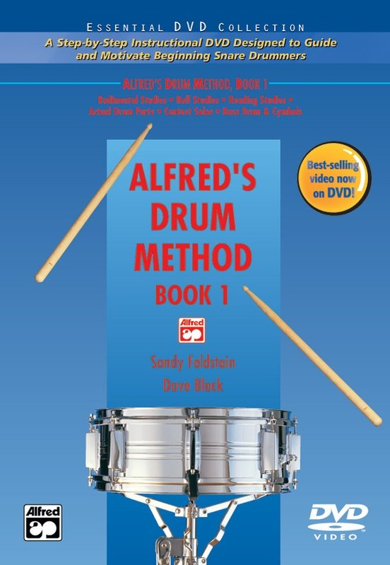 Alfred's Drum Method, Book 1 DVD ONLY
