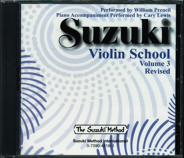Suzuki Violin School CD, Volume 3 [Violin]