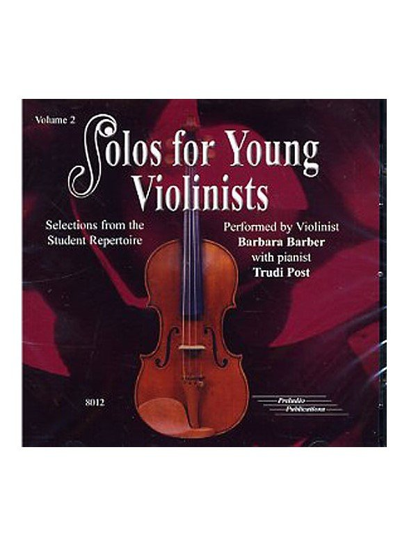 Solos for Young Violinists CD, Volume 2 [Violin]