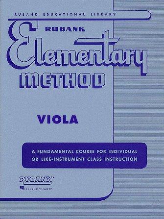 Rubank Elementary Method - Viola