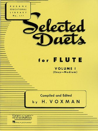 Rubank Selected Duets for Flute Vol. I