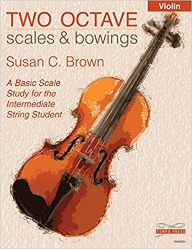 Two Octave Scales & Bowings - Violin