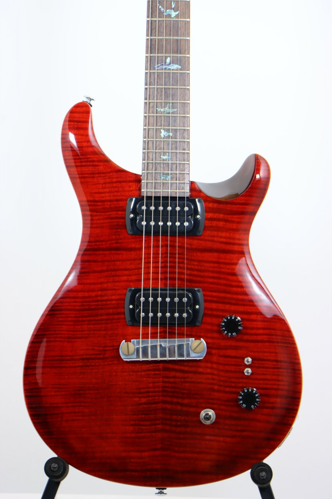 PRS SE Paul's Guitar - Fire Red