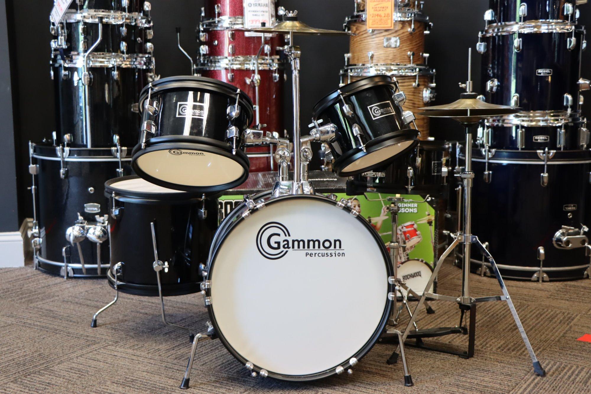 USED Gammon 5 Piece Kid's Junior Drum Set