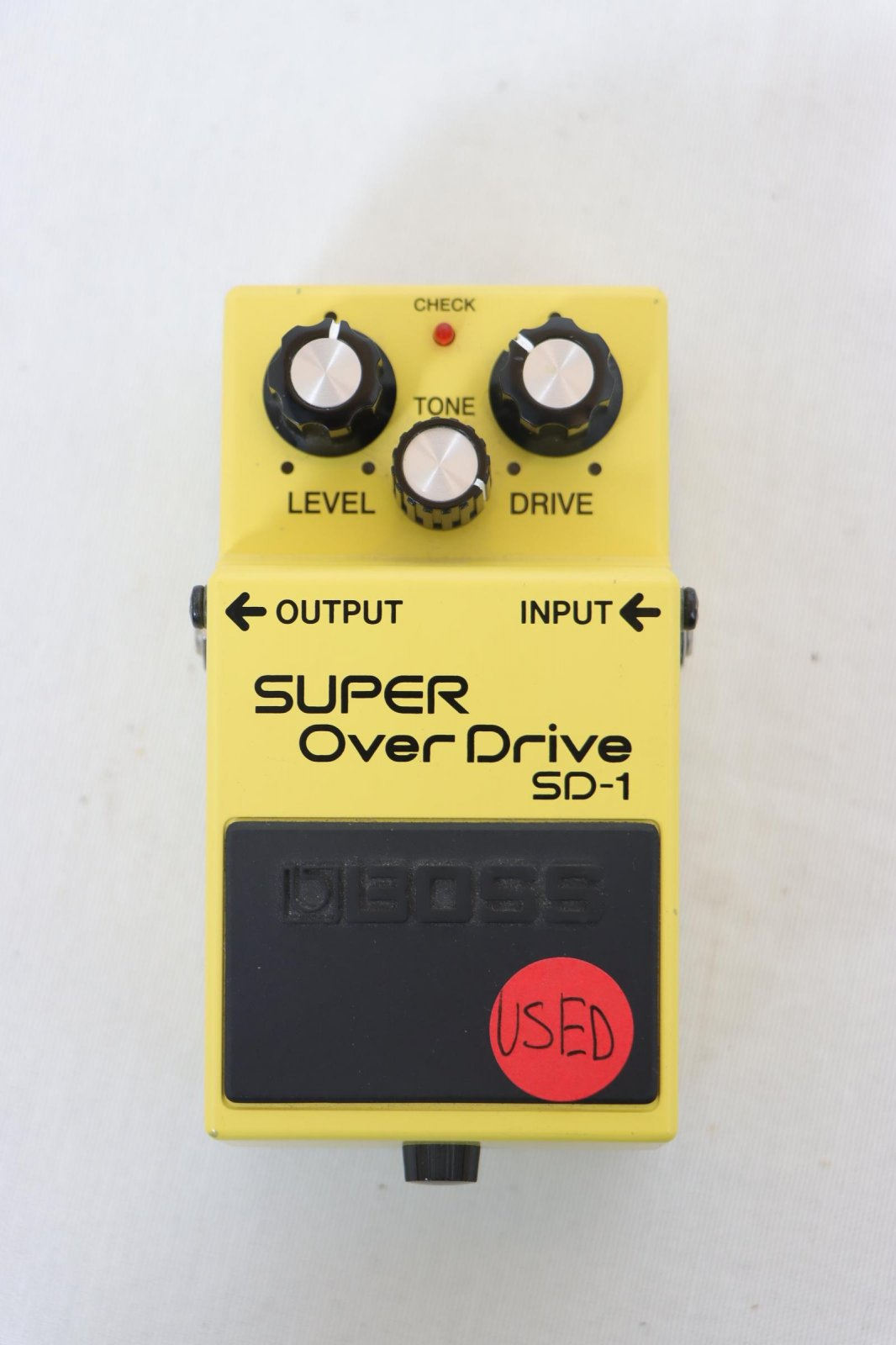 USED Boss SD-1 Super Overdrive Pedal