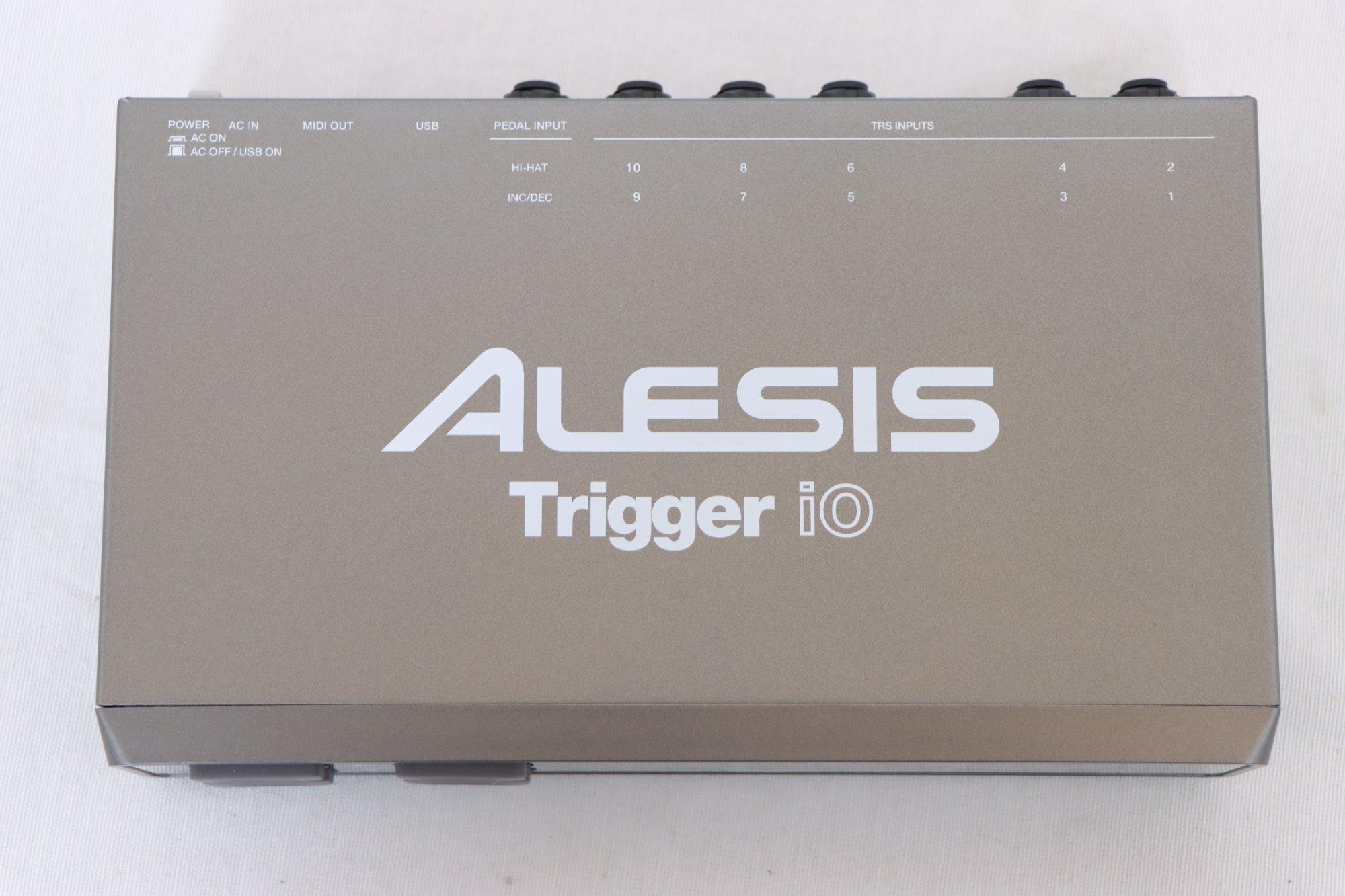 USED Alesis Trigger iO Trigger-to-MIDI/USB Interface