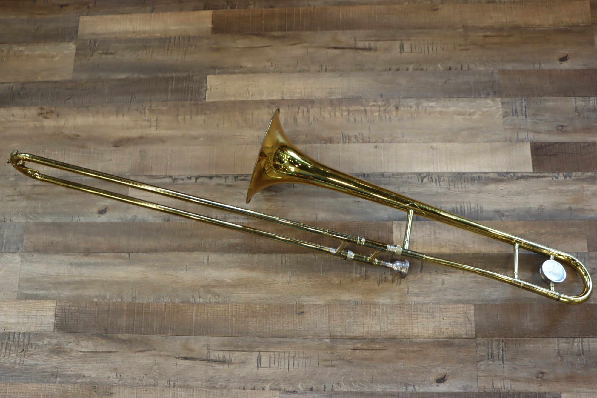 USED King 606 Trombone - Made in USA w/Hard Case & Bach Mouthpiece