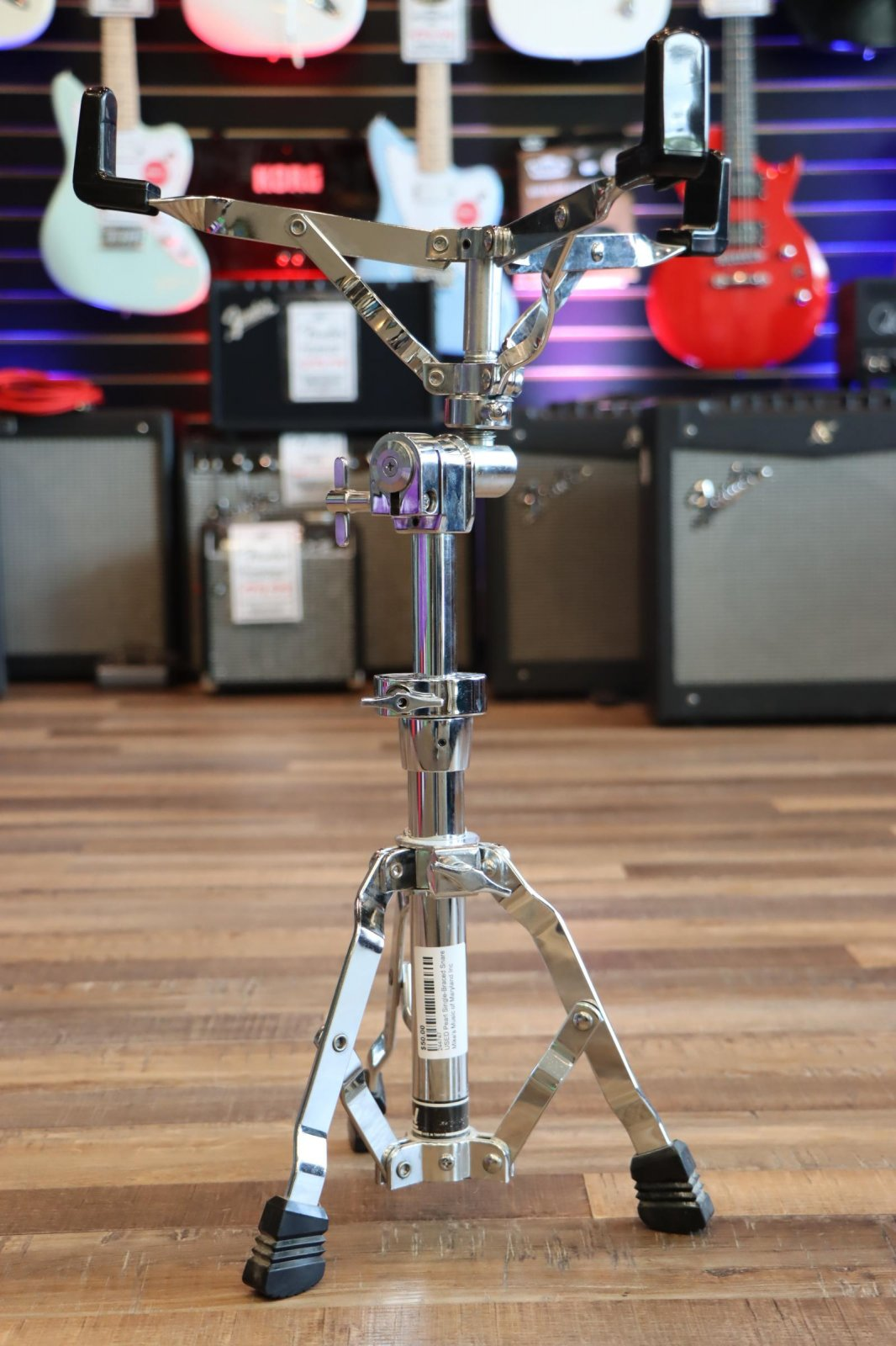 USED Pearl Single-Braced Snare Stand